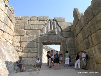 Lion Gate Mycenae
