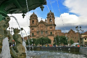 The Cathedral in Cusco's town square