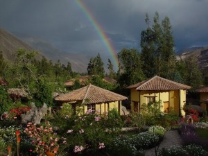 We'll stay in these wonderful spa lodge casitas of Sol y Luna in the Sacred Valley.